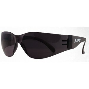 Lift Safety ETO-14STB Tear Off Safety Glasses, Smoke (Black) Lens