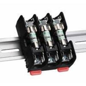 Littelfuse L60030M-2SQDINR Fuse Block, 30A, 2P, 600V, Midget Series, Screw QC Terminals