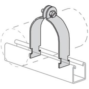Power-Strut PS1117-1-AL Pipe Clamp