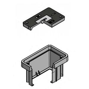 "Oldcastle Precast 38101270 Underground Enclosure With Cover, 11 x 18"", DuoMold Composite"