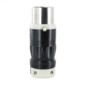 Leviton 3763C Locking Plug, Non-NEMA, 50A 250VDC/600VAC, 2P3W