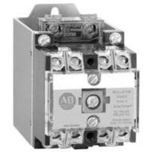 Allen-Bradley 700DC-P400Z1 Relay, Heavy Duty, Industrial, DC Operated, 4P, 120VAC Coil