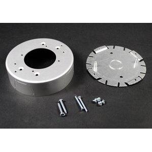 Wiremold AL2038 Rnd Fixture Box Aluminum