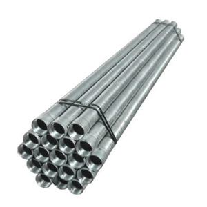 "Calbrite ST0710CT00 Rigid Conduit with Coupling, 3/4"", Galvanized Steel, 10'"
