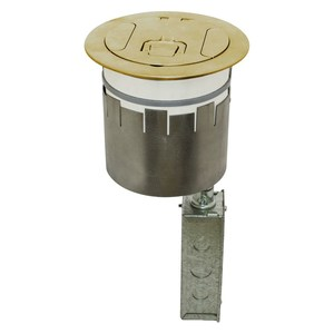 Hubbell-Wiring Kellems S1R6PTWZBRS HUB S1R6PTWZBRS S1R FRPT 6, 2X 20A,