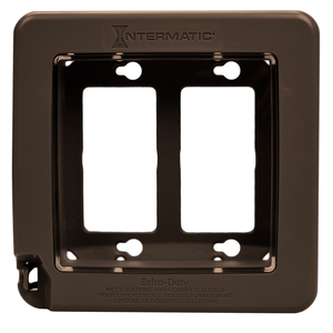 Intermatic WP7200BR In-Use Cover, 2-Gang, Weatherproof