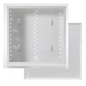 "ON-Q EN1400 14"" Enclosure with Screw-On Door, 14.1"" H x 14.3"" W x 3.7"" D, White"