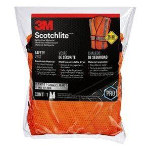 3M 94625-80030T Hi-Viz Construction Vest Orange