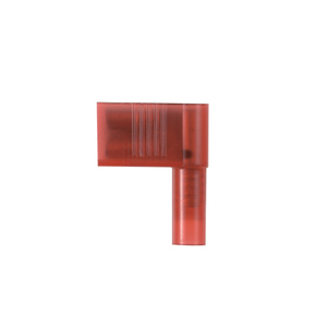 """Panduit DNFR18-250B-L Right Angle Female Disconnect, Nylon Insulated, 22 - 18 AWG, .25""""x.032"""" Tab"""