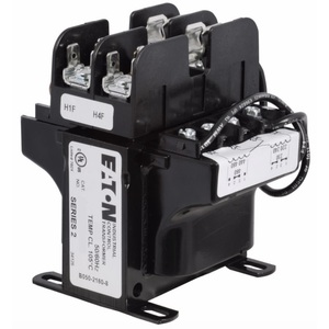 Eaton C0250E5EFB Transformer, 250VA, Multi-Tap, 1Ph, with Fuse Clips, MTE Series