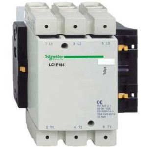 Square D LC1F185G6 Contactor, Non-Reversing, TeSys F, 185A, 3P, 600VAC, 120VAC Coil *** Discontinued ***