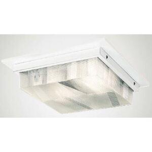 "Amerillum E-CF11L50LHACU LED Canopy Fixture, 15""x 15"", 31W, 5000K, 2300 Lumen, 120-277V"