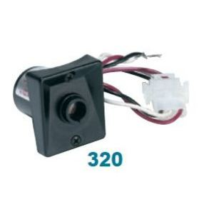 Wave Lighting 320 Photocontrol, Stem Mount, 120V, 39W Fluorescent, 100W HID