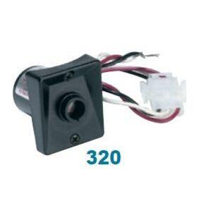 Wave Lighting 320 Photocontrol, Stem Mount, 120V, 39W Fluorescent, 100W HID