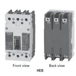 Siemens HEB3B125B Circuit Breaker, 125 Amp, 3 Pole, 480 Volt, Type HEB