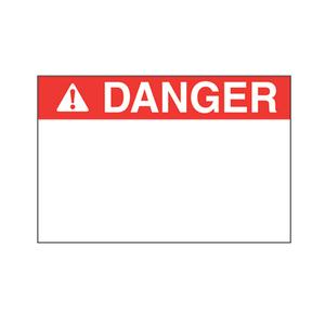 """Panduit C200X400YZ1 Polyester Adhesive Label, 4"""" W x 2"""" H, D"""