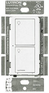 Lutron PD-5WS-DV-WH Wireless In-Wall Switch, RF Technology