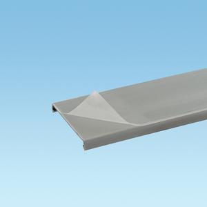 "Panduit C2IB6-F PANDUCT Wiring Duct Cover, 2"" x 6', PVC, Blue, Protective Film"