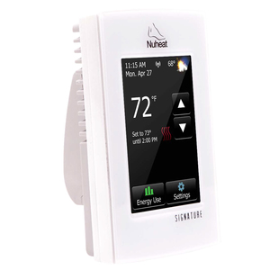 nVent NuHeat AC0055 Signature WiFi Thermostat, 15A, 120/240V