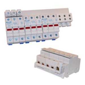 Mersen USBB1PH25K4 4P 1PH 600VAC/1000VDC BUSBAR 2
