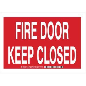 25881 FIRE DOOR KEEP CLOSED