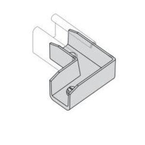 Power-Strut PS2802-AL Elbow Inside Strut Joiner
