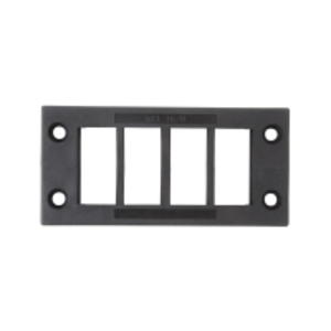 Weidmuller 1825910000 Cable Entry Strips, Cabtite, Black, 58mm H x 120mm W x 17mm D