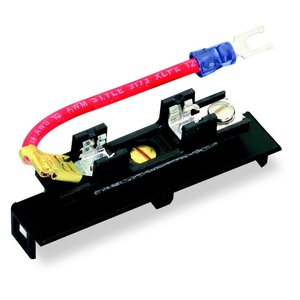 """Square D 9070SF25A Fuse Block, 1P, Secondary Fusing, 1-1/4 x 1/4"""" Glass Fuse, Fingersafe"""