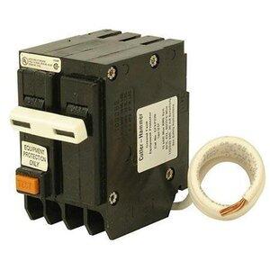 Eaton GFEP220 Breaker, 20A, 2P, 120/240V, 10 kAIC, BR Equipment Protector