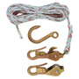H1802-30 BLOCK&TACKLE W/GRD SNAP HOOKS