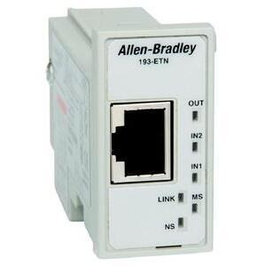 Allen-Bradley 193-ETN Relay, Overload, E1 Plus, EtherNet/IP, Protection Module