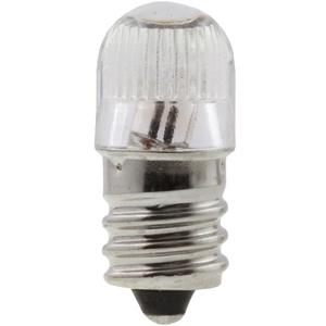 Candela B7A-I Minature Lamp, Neon Filamant, 105-125V, T4-1/2, Screw Base