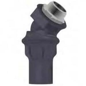 "Calbond PV0500LT5045 1/2"" 45 Degree Liquid Tight Connector"