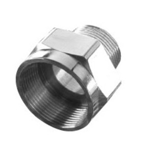 """Appleton 737DT2M35 Adapter, Metric to NPT, M25 to 3/4"""", Nickel Plated Brass"""