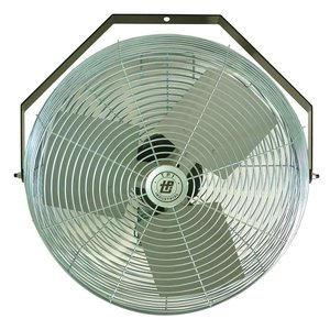 "TPI U12TE 12"" Work Station Fan, 1/12 Hp, 3 Speed, 120v"