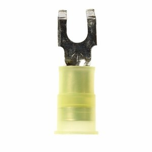 3M MNG10-8FFBK Nylon Insulated w/Insulation Grip Flanged Block Fork Terminal