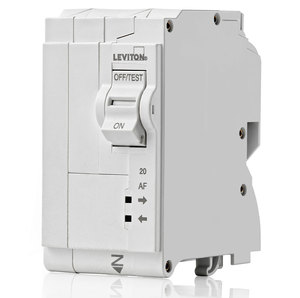 Leviton LB220-AF Circuit Breaker, 20 Amp, 2-Pole, AFCI