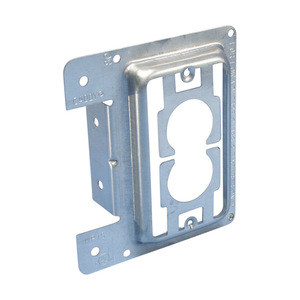 nVent Caddy MP1S Mounting Bracket, 1-Gang, Low Voltage, Nail-On, Metallic
