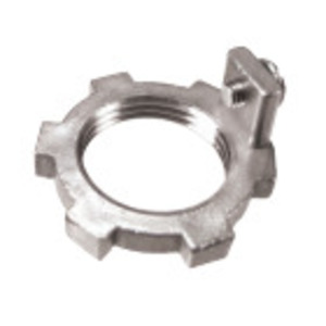 Calbrite S61000LNWG Grounding Locknut, 1""