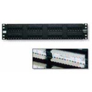Tyco Electronics 406330-1 Patch Panel, Cat 5e, 24 Port, RJ45, 110 Block