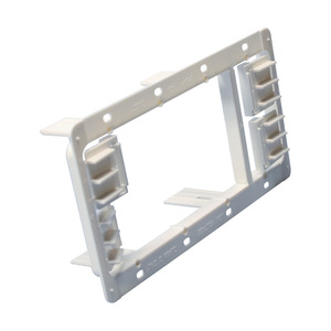 nVent Caddy MP34P Mounting Bracket, 3-Gang, Low Voltage, Non-Metallic