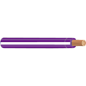 Multiple MTW16STR264PURWHT500RL 16 AWG MTW Stranded Copper, Purple/White Stripe, 500'