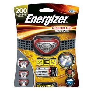 Energizer HDBIN32E LED Headlamp, Plastic, 200 Lumens, Red