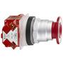 9001KR9RH6 30MM PUSH-PULL OPERATOR RED K