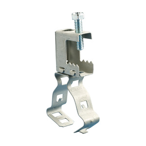 nVent Caddy BC24M Clamp,beam,1 1/2 Conduit Thru 1/2 Flange