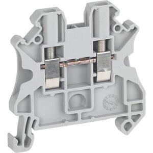 Square D NSYTRV22 Terminal Block, Feed Through, 5.2mm, Gray, 20A, 600V AC/DC, 2Pts