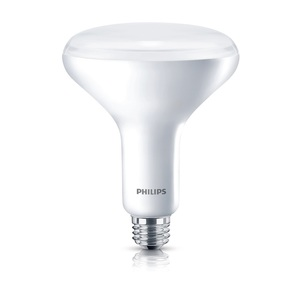 Philips Lighting 10BR40/LED/827-22/DIM-120V-6/1 Dimmable LED Lamp, BR40, 9W, 120V