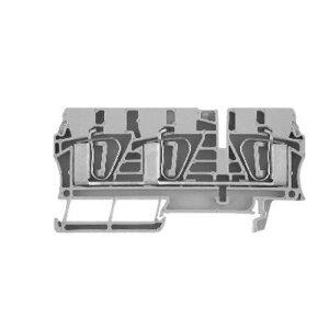 Allen-Bradley 1492-L6T Terminal Block, 50A, 600V AC/DC, Gray, 22 - 8AWG, 6mm