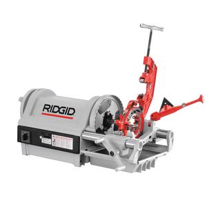 "Ridgid Tool 26097 1/2"" - 4"" NPT Hammer Chuck Machine"