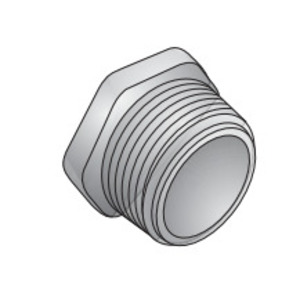 """EGS CNI-300 Chase Nipple, 1"""", Insulated, Zinc Die Cast"""